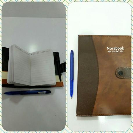 دفترچه یادداشت جاخودکار دار بزرگ