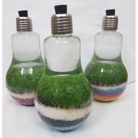 گیاه آبزی تراریوم طرح لامپ