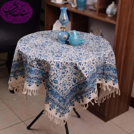 رومیزی قلم کاری دست سنتی