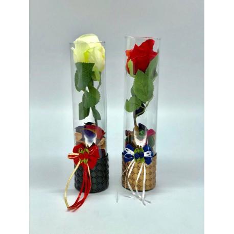 شیشه عشق گل رز کد 200