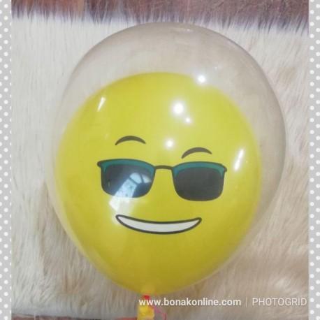 بادکنک دوقلو لبخند   بسته 3 تایی