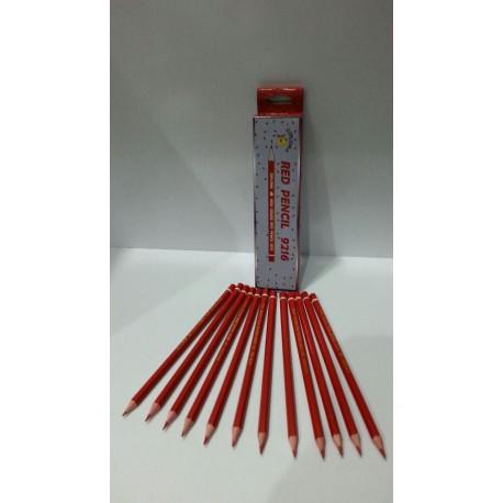 مداد قرمز دیپلما بسته 12 عددی