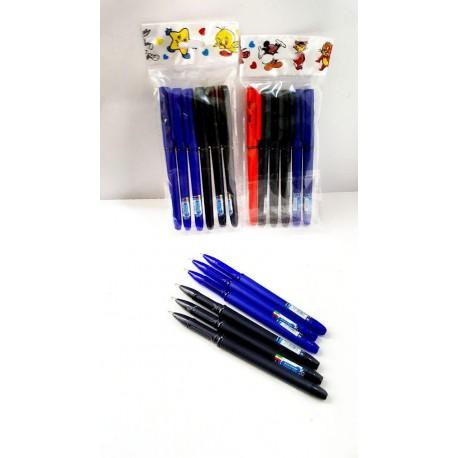 خودکار صدف بسته 6تایی متنوع