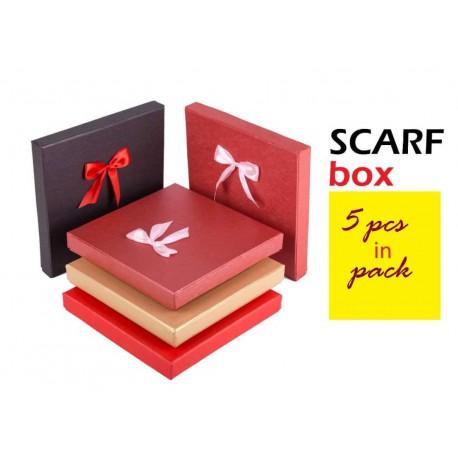 جعبه کادویی مربع ویژه روسری