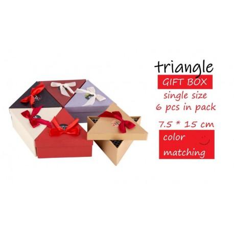 جعبه کادویی تک مثلثی