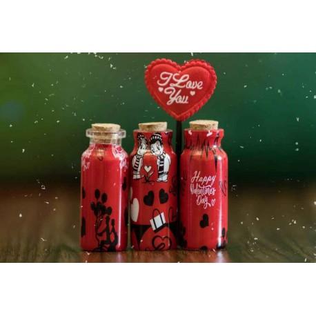 اسمارتیس شیشه کوچک قلبی ولن تاین (خوراکی)