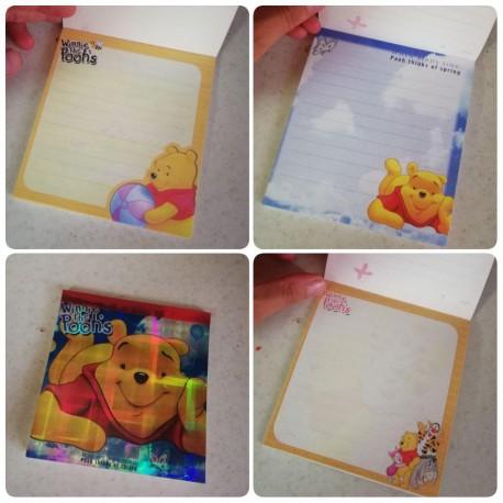دفترچه یادداشت کاغذ طرح دار کارتونی خارجی