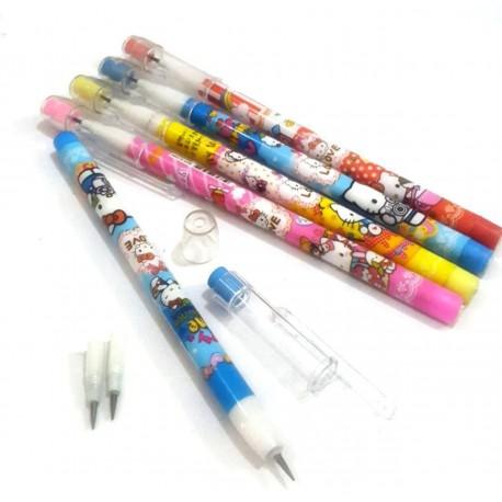 مداد فشنگی پاکن دار فانتزی
