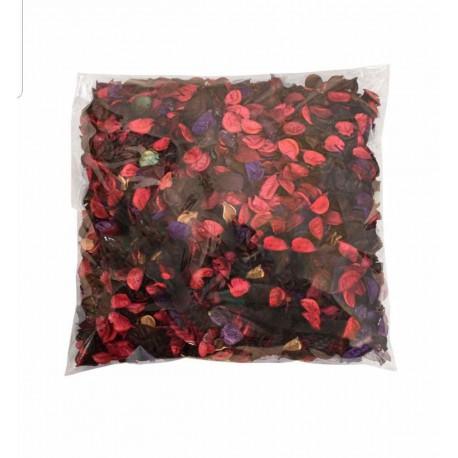 گل خشک قرمز بسته 1 کیلویی