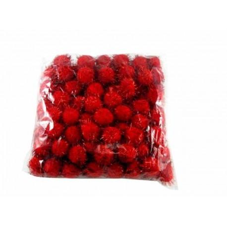 قاصدک قرمز-مشکی سایز متوسط بسته 1000 تایی