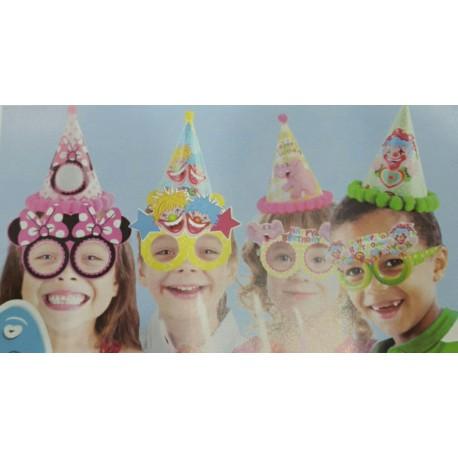 عینک تولد کاغذی بسته 6 تایی