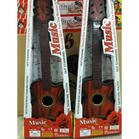 گیتار بزرگ طرح چوب 75 سانتی
