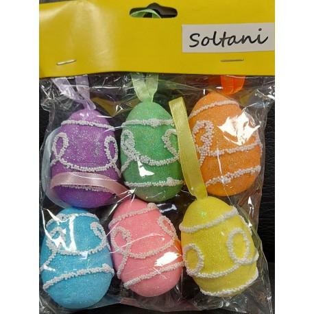 تخم مرغ اکلیلی بسته 6 تایی