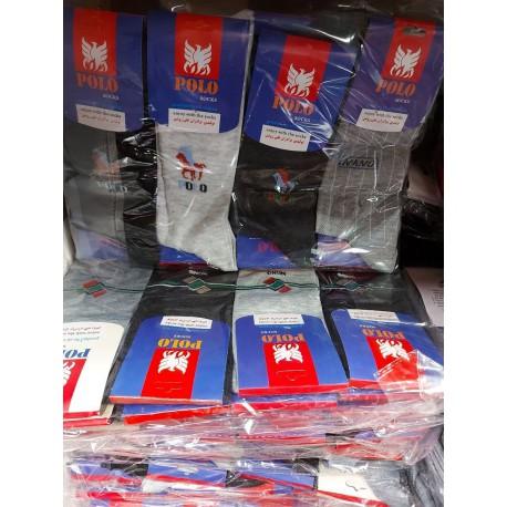 جوراب مردانه کیفیت خوب بسته 12 جفتی