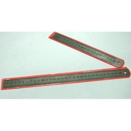 خط کش فلزی 30 سانتیمتری