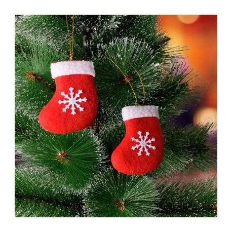 آویز درخت کریسمس طرح آدم برفی