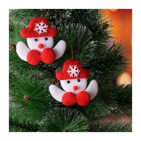 آویز درخت کریسمس طرح کاج